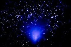 Geheimzinnige blauwe lichten Royalty-vrije Stock Foto's
