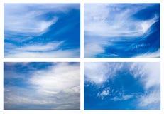 Geheimzinnige hemel stock afbeelding