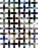 Geheimzinnige netwerk abstracte achtergrond Royalty-vrije Stock Afbeeldingen