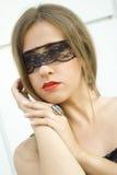 Geheimzinnige Schoonheid Royalty-vrije Stock Foto
