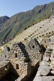 Geheimzinnige stad van Machu Picchu, Peru. Royalty-vrije Stock Foto