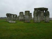 Geheimzinnige Stonehenge Stock Afbeelding