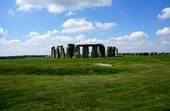 Geheimzinnige Stonehenge in Engeland royalty-vrije stock foto's