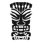 Geheimzinnigheid Azteeks idoolpictogram, eenvoudige stijl royalty-vrije illustratie