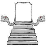 Geheimzinnigheid Deur royalty-vrije illustratie