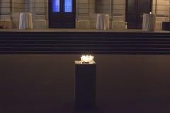 Geheimzinnigheid kaarsen Royalty-vrije Stock Afbeeldingen
