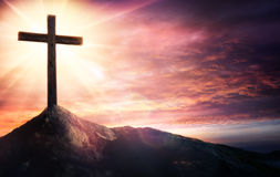 Geheimzinnigheid van het Kruisbeeld royalty-vrije stock foto
