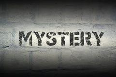 Geheimzinnigheid WORD gr. royalty-vrije stock afbeeldingen