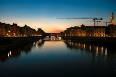 Gehele mening van Florence royalty-vrije stock fotografie