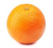 Gehele sinaasappel die op wit wordt geïsoleerd Royalty-vrije Stock Afbeelding
