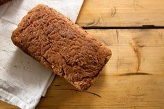 Gehele Tarwe en gluten-Vrij Brood stock foto's