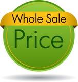Gehele verkoopprijs royalty-vrije stock fotografie