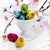 Gehele verse peren genoemd Birne Helene met chocolade en roomijs Royalty-vrije Stock Fotografie