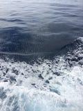 Gehen auf Atlantik-Wellen lizenzfreie stockbilder