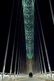 Gehen auf BrückeLusitania Stockfoto