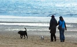 Gehen auf den Strand Lizenzfreies Stockfoto