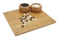 GEHEN boardgame Lizenzfreie Stockbilder