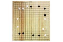 GEHEN boardgame chinesisches Lizenzfreie Stockfotos