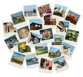 Gehen Bulgarien - Hintergrund mit Reisenfotos Stockfotos