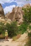 Gehen in Cappadocia Lizenzfreies Stockbild