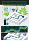 Gehen das Labyrinth Vektor Abbildung
