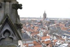 Gehen in Delft lizenzfreies stockfoto