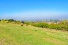 Gehen der ländlichen Oxfordshire-Landschaft lizenzfreies stockfoto