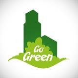 Gehen Design grünes Lizenzfreies Stockfoto