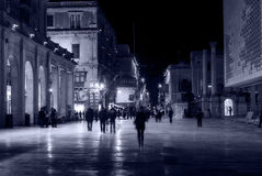 Gehen in die Hauptstadt Lizenzfreie Stockfotografie