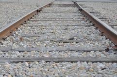 Gehen die Schienen Stockbilder