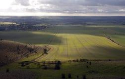Gehen die Wiltshire-Abstiege lizenzfreie stockbilder