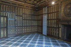 Gehen durch die Hallen von Blois-Schloss Lizenzfreie Stockfotografie