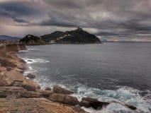 Gehen ein Ausflug in Donostia Lizenzfreies Stockfoto
