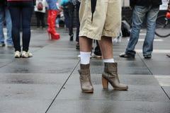 Gehen eine Meile in ihren Schuhen, Toronto Stockbilder