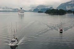 Gehen, gehend, gegangene Fischerei! Lizenzfreies Stockbild