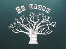 Gehen Grün Lizenzfreies Stockfoto