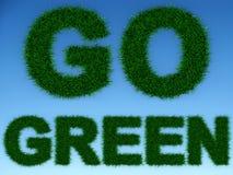 Gehen Grün Stockfotografie