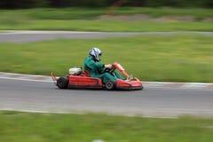 Gehen kart Rennen Lizenzfreie Stockfotos