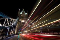 Gehen in London Stockfoto