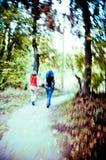 Gehen in Sedona Stockfoto