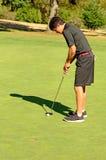 Gehen Sie Golf zu spielen stockfotografie