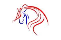 Gehen Sie Pferd voran Lizenzfreie Stockfotografie