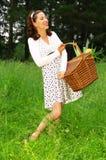Gehen Sie picnic Stockfotos