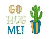 Gehen Sie umarmen mich! Stockbilder