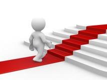 Gehen Sie zum Erfolg Stockbild