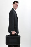 Gehen zu arbeiten Lizenzfreies Stockfoto
