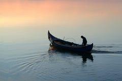 Gehen zu fischen lizenzfreie stockbilder