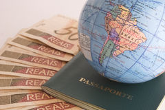 Gehen zu reisen Lizenzfreies Stockbild