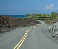 Gehen zum Pazifischen Ozean (Hawaii) Stockfotos