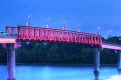 Gehende Brücke Lizenzfreies Stockfoto